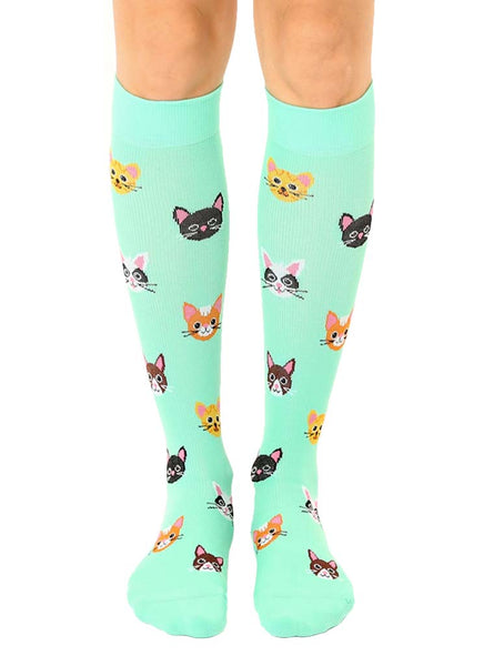 Cat Compression Socks