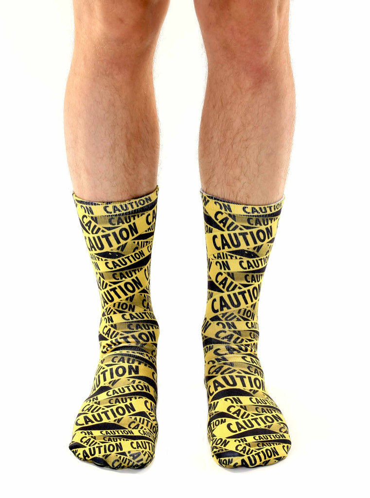 Caution Crew Socks
