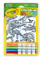 Color-In Socks Chameleon