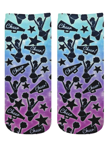 Cheer Girl Ankle Socks
