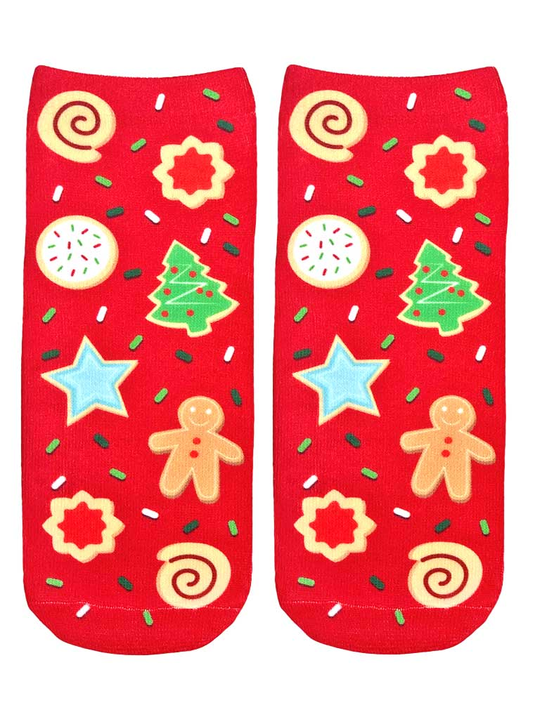 Christmas Cookies Ankle Socks