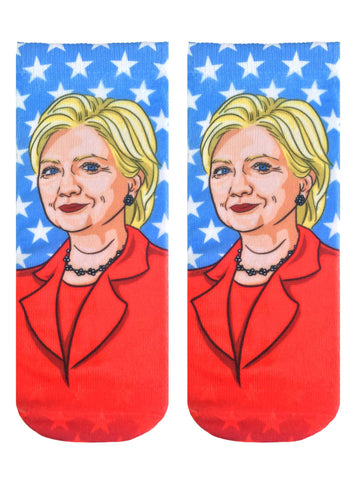 Hillary Clinton Ankle Socks