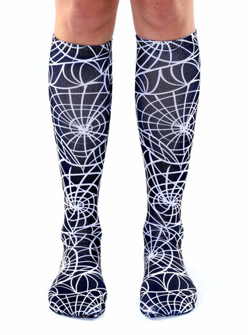 Cobwebs Knee High Socks