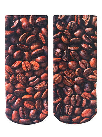 Coffee Beans Ankle Socks