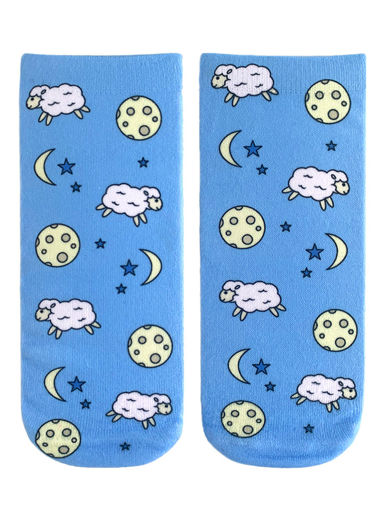 Counting Sheep Ankle Socks