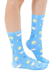 Counting Sheep Crew Socks