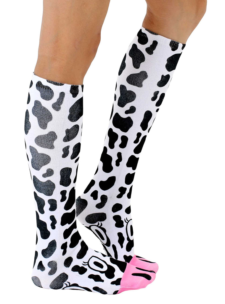 a1439464cf9 Cow Knee High Socks · Cow Knee High Socks