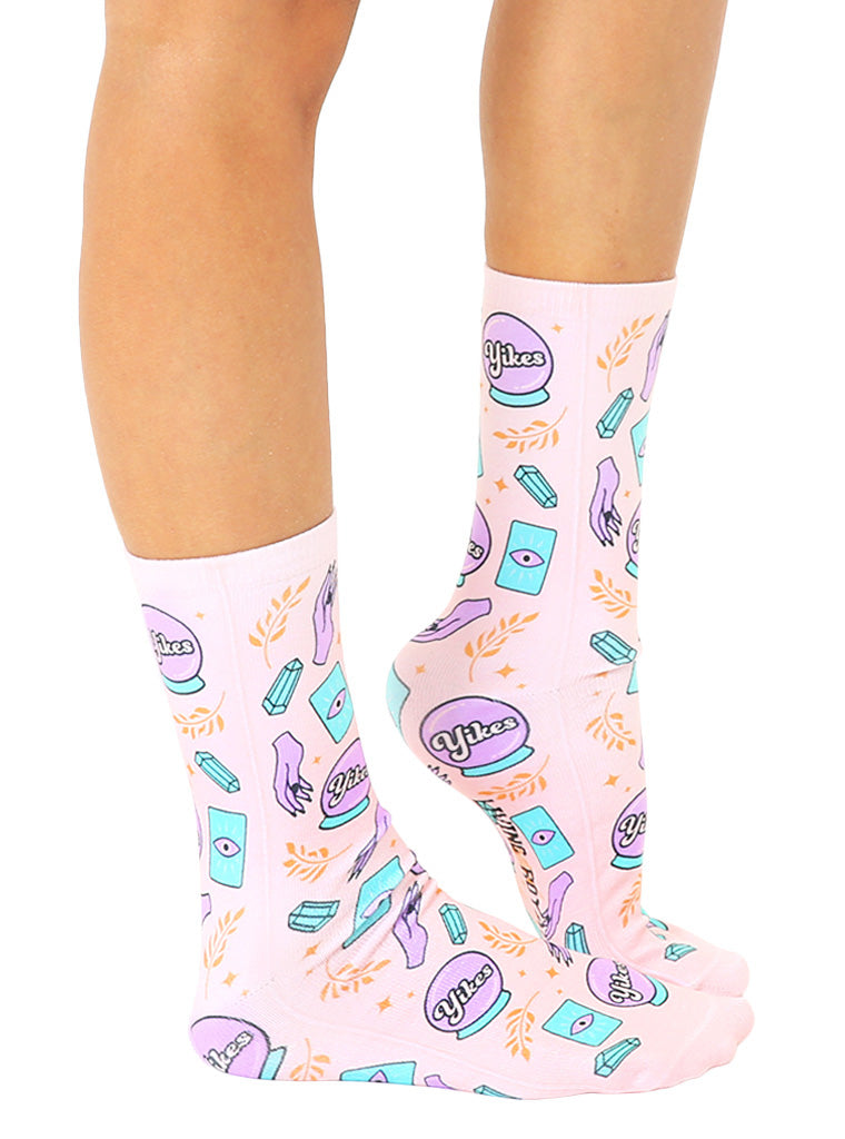 Crystal Ball Crew Socks