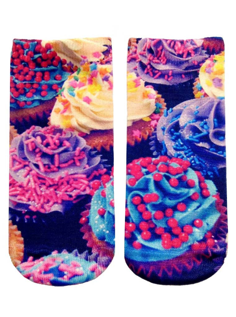 Cupcake Ankle Socks