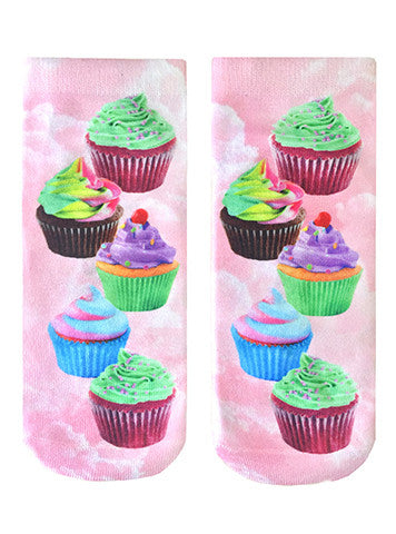 Cupcake Dream Ankle Socks