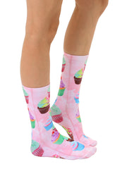 Cupcake Dream Crew Socks