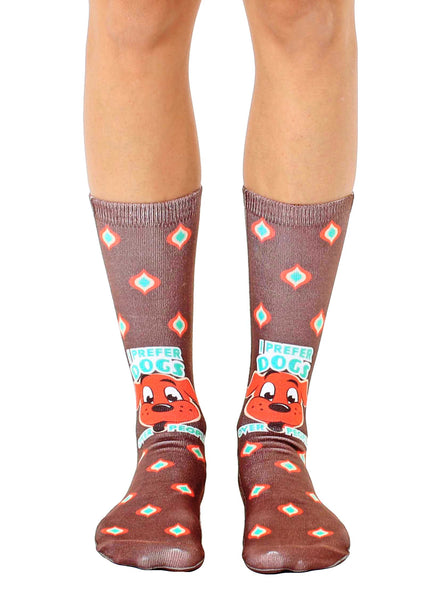 Dogs Over People Crew Socks