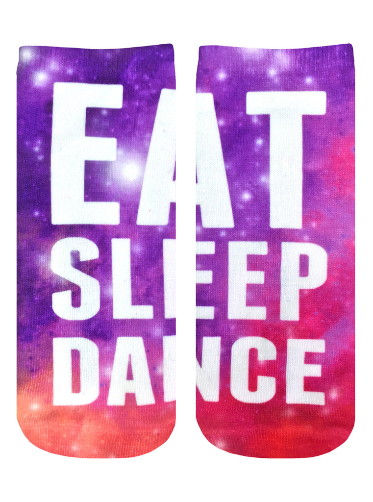 Eat Sleep Dance Ankle Socks