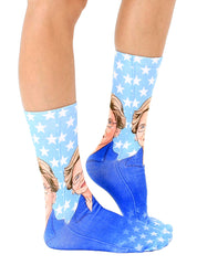 Elizabeth Warren Crew Socks
