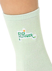End Hunger Mid Crew Socks