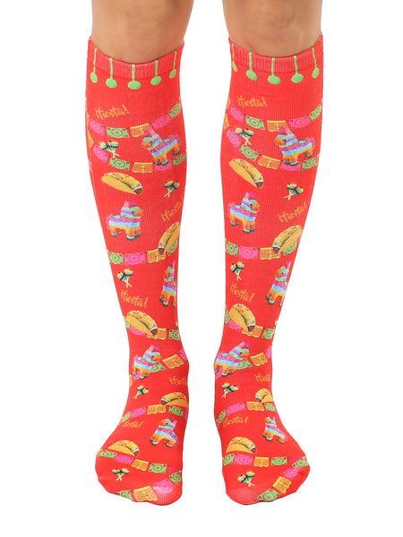 Fiesta Knee High Socks