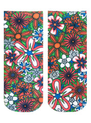 Color-In Socks Floral