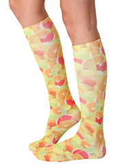 Fruits Knee High Socks