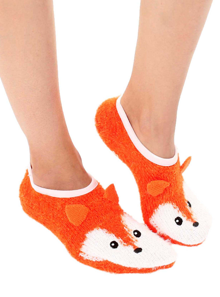 Fuzzy Fox Slipper