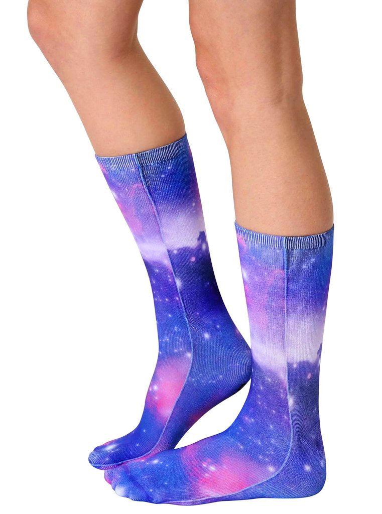 Galaxy Crew Socks
