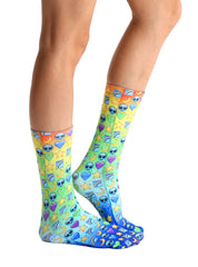 Galaxy Emoji Crew Socks