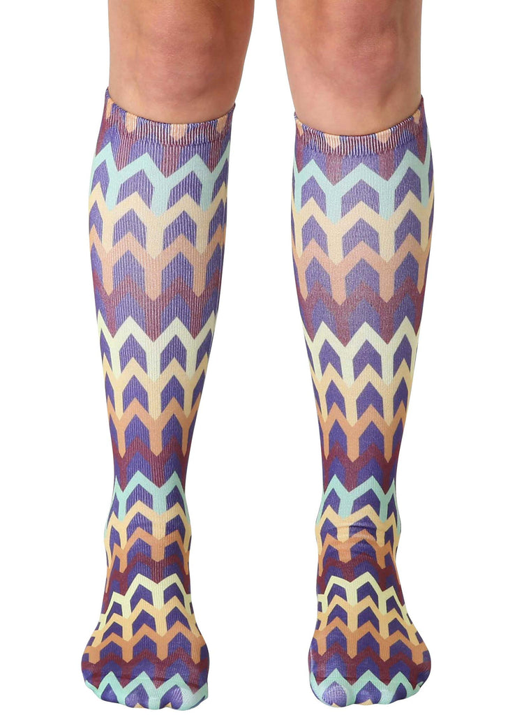 Geo 5 Knee High Socks