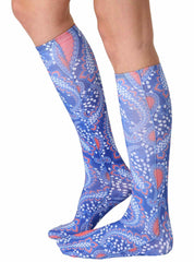 Geo 7 Knee High Socks