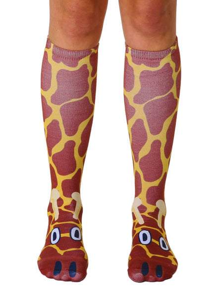 Giraffe Knee High Socks