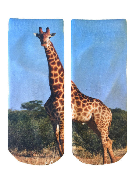 Giraffe Ankle Socks