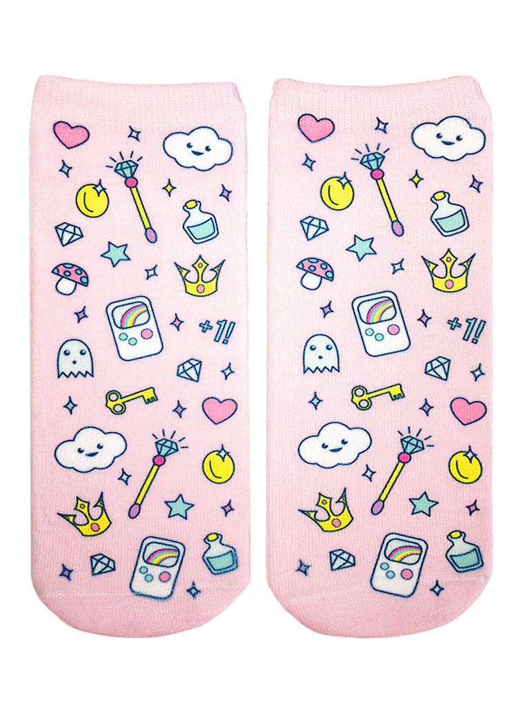 Girly Gamer Ankle Socks