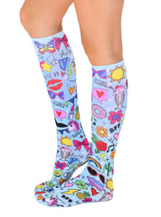 Glam Girl Knee High Socks