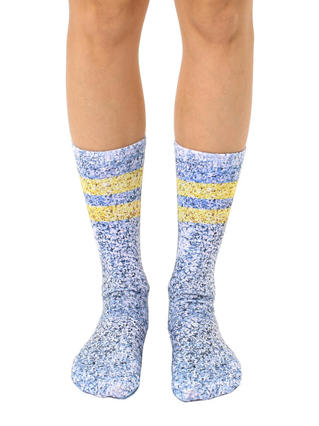 Glitz and Glam Crew Socks