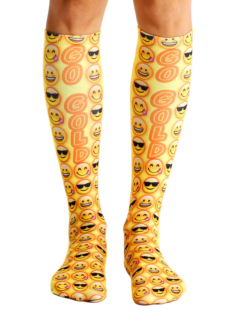Go Gold Knee High Socks