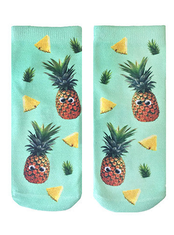 Googly Pineapples Ankle Socks