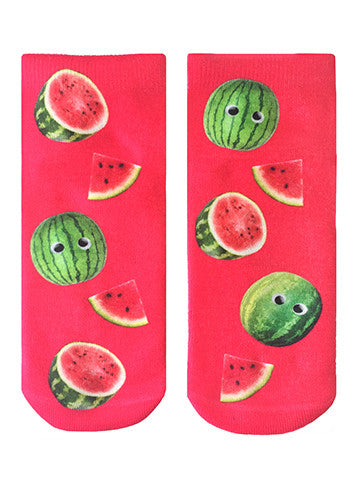 Googly Watermelons Ankle Socks