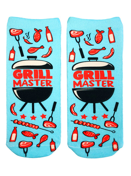 Grill Master Ankle Socks
