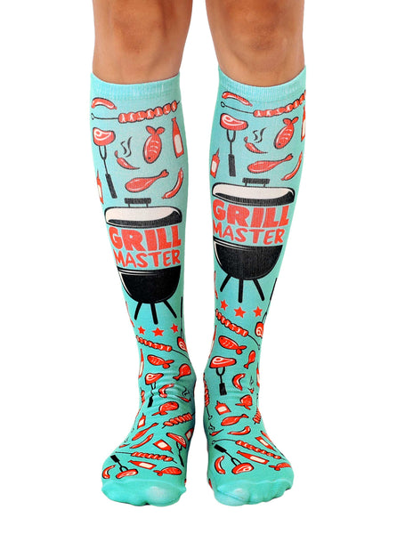 Grill Master Knee High Socks