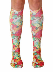 Gummy Bears Knee High Socks