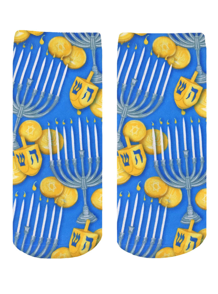 Hanukkah Ankle Socks