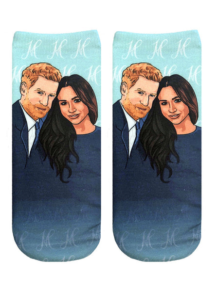 Meghan And Harry Ankle Socks