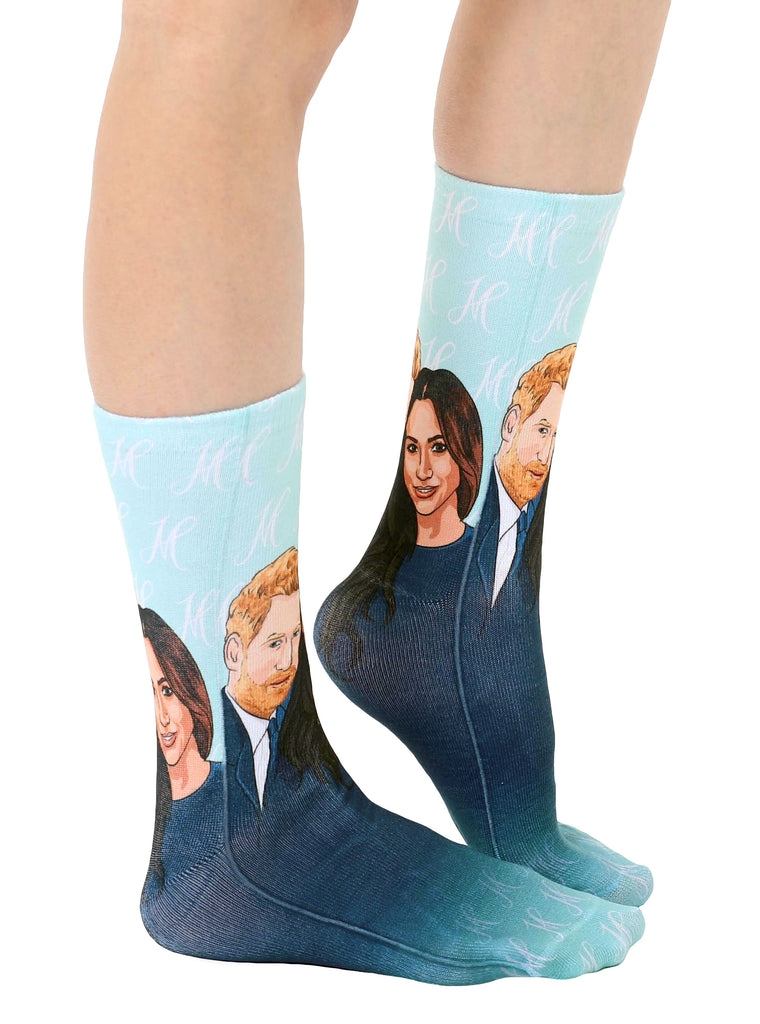 Meghan And Harry Crew Socks