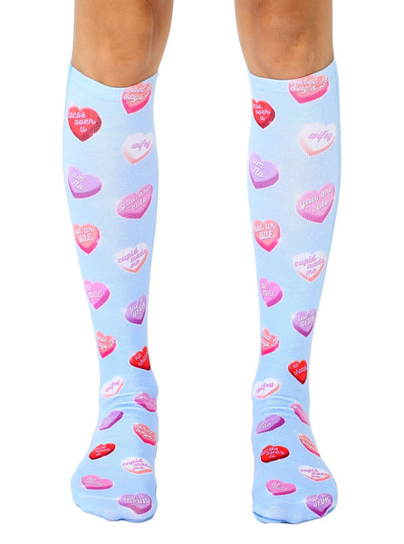 Heart Candies Knee High