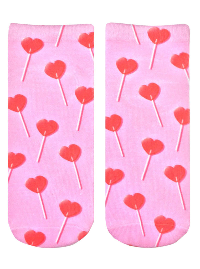 Heart Sucker Ankle Socks