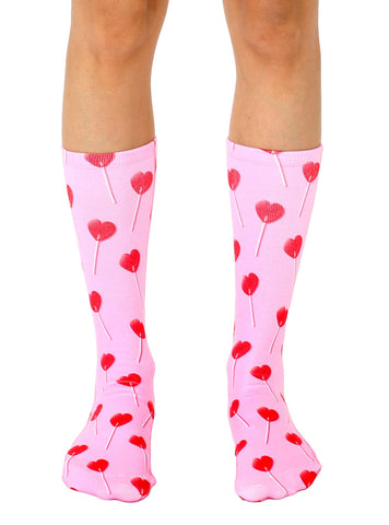Heart Sucker Crew Socks