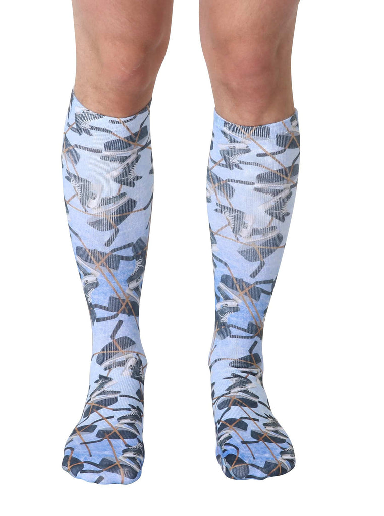 Hockey Knee High Socks