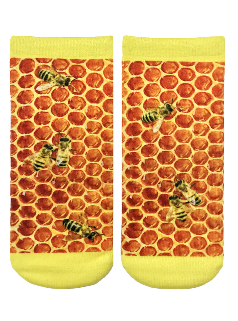 Honeycomb Ankle Socks