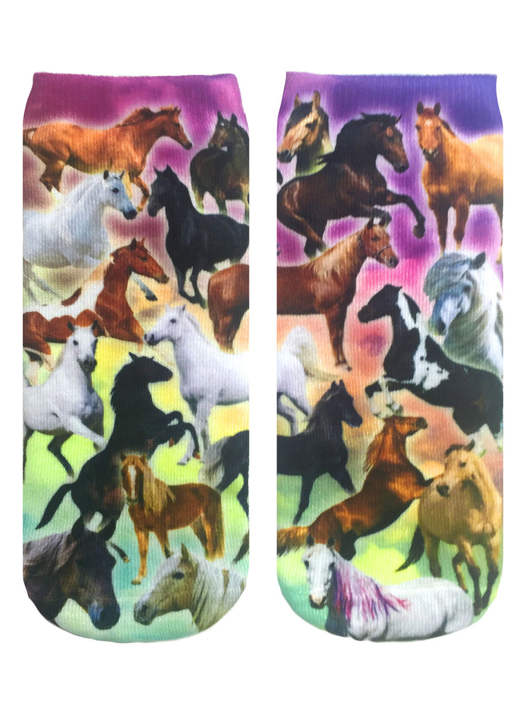 Horse Heaven Ankle Socks
