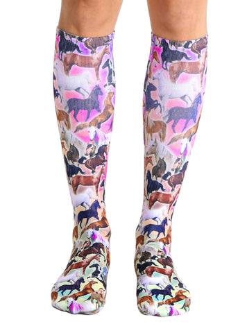 Horse Heaven Knee High Socks