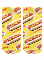 Hot Dog Ankle Socks