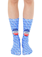 I Voted Crew Socks
